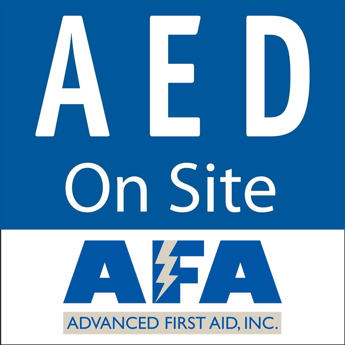 New Aed On Site Window Decal Feb 2012 6x6 Advanced 03